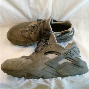 Nike Air Huarache #11.5 Cool Grey Dark Grey